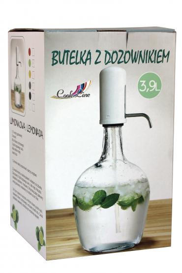 Bardzo dobry Butelka z dozownikiem do napojów 3,9l -sklep.chomik.pl HG47