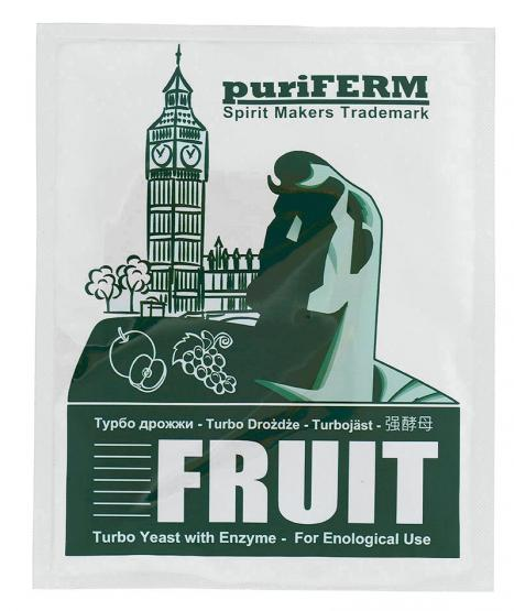 PURIFERM - TURBO DROŻDŻE FRUIT 50 G